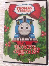 Thomas & Friends Ultimate Christmas DVD The Tank Engine Sodor Harold Percy James