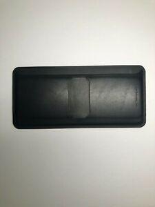Veilance Leather Casing Billfold Bifold Wallet Black
