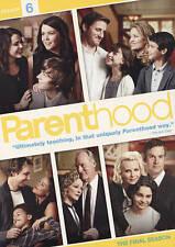 Parenthood: Sixth Season 6 (DVD, 2015, 3-Disc Set)
