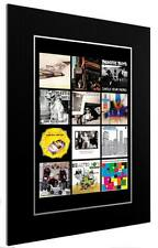 More details for mounted / framed print the beastie boys discography 3 sizes poster gift artwork