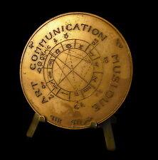 Médaille Roger Bouillot art communication musique astrologie signes zodiac Medal