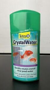 Tetra Crystal-Water Clear Pond Fish Treatment 500 Ml Koi Garden Dirty Murky