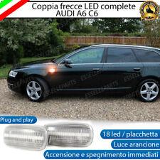 PLACCHETTE A LED FRECCE LATERALI 30 LED SPECIFICHE AUDI A6 C6 + AVANT CANBUS