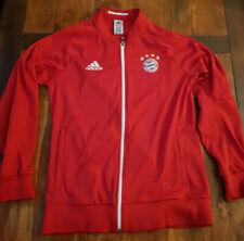 Original Adidas FC Bayern Jacke Trainingsjacke Rot Größe L, Neuwertig