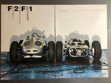 "2006 Porsche ""F2, F1"" Formula Race Cars Advertising 2 Poster Set RARE!! Awesome"