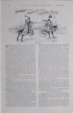 1897 BOER WAR SWORDS AND LANCES BRITISH ARMY LT COL JOHN GRAHAM THE LISTS ETC