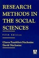 Research Methods en Social Sciences