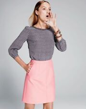 J. CREW COLLECTION Wool Silk A-line Mini Skirt $90 NWT