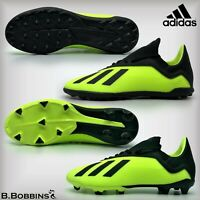 ⚽ Adidas X 18.3 FG/TF Football Boots Size UK 10 12 13 2 3 4 4.5 5 5.5 Boys Girls