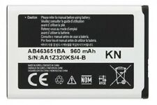 NEW OEM SAMSUNG R450 Messager 2 R560 II Mantra AB463651BA M340 Seek M350 BATTERY