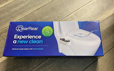 NEW Clear rear bidet With Complete Instructions