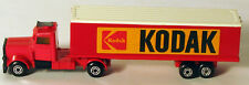 DTE LESNEY MATCHBOX TWIN PACK TP-24 RARE RED KODAK CONVOY CONTAINER TRUCK
