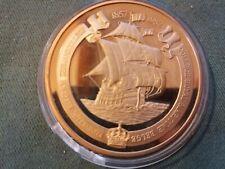 ancienne médaille - jeton en bronze