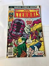 ETERNALS #7 Marvel Comics 1977 1st app of JEMIAH & TEFRAL Jack Kirby art comic!