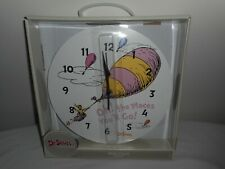 Dr Seuss Wall Clock- Oh! the Places You'll Go!
