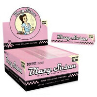 Blazy Susan Pink Rolling Papers Uk Stock Packs NEW
