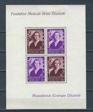 Belgium - 1937 mnh stamp sheet Sc B199 - Queen Mother Elisabeth