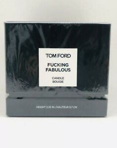Tom Ford..FUCKING FABULOUS Candle Bougie Height 2.25 in. New Sealed Box