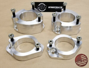 "StreetRays 2"" Front & Rear Billet Leveling Spacers Lift Kit Fits Element 03-11"