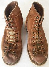Vintage Biltrite Tan Suede Leather Roofer Work Boots Men's 7.5-8 White's