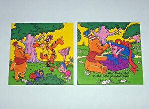 """Winnie Pooh Bilder, Wand-Bilder, Servietten, Wand Deko, Elefant """"   2er Set """""""