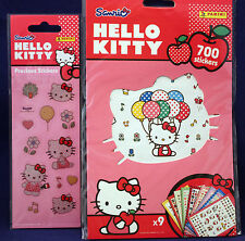 "**700 Sticker = 9 Bögen ""HELLO KITTY"", 1 Bogen Edel-Sticker ""HELLO KITTY"" Neu"