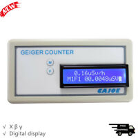 Handheld Geiger Counter Nuclear Radiation Detector Meter Digital for β γ
