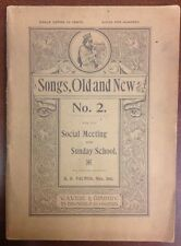 Early 1900 Songs Old And New No 2 H R Palmer Sheet Music SheetNoteMusicMusic.com