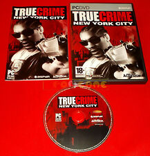 TRUE CRIME NEW YORK CITY Pc NY Versione Italiana ○ COMPLETO