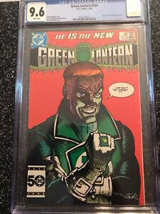 Green Lantern 196 CGC 9.6 NM+ Guy Gardner Chaykin Cover DC