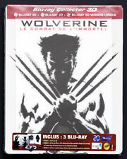 """THE WOLVERINE LENTICULAR MAGNET 3D STEELBOOK COLLECTOR EDITION FR BLU-RAY """"RARE"""""""