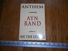 Anthem Ayn Rand paperback 2008