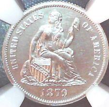 1879 Seated Liberty Dime NGC Proof 64 Cameo deep mirrors!