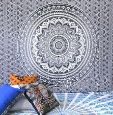 Indian Decor Handmade Hippie Mandala 100% Cotton Tapestry Wall Hanging Bedspread