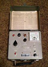 International Crystal Model C-12B Frequency Meter Vg+
