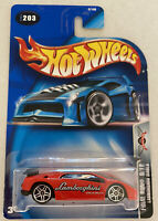 2003 Hotwheels Lamborghini Diablo Red Final Run! Vintage Mint! MOC! Very Rare!