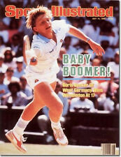 July 15, 1985 Boris Becker Tennis Sports Illustrated NO LABEL 1A