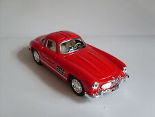 1954 Mercedes-Benz 300 SL Coupe rot, Auto Modell ca.1:36