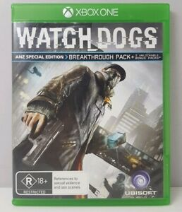 Watch Dogs (ANZ Special Edition) - Xbox One - PAL - FREE TRACKED POSTAGE