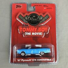 NEW Reel Rides Tommy Boy 1:64 Movie Car '67 Plymouth GTX Convertible MOC Malibu