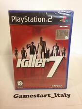 KILLER 7 SEVEN - SONY PS2 PLAYSTATION 2 - NEUF ET SCELLÉ - PAL VERSION - NEW