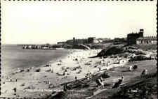 Postcard ~1950/60 TYNEMOUTH Long Sands Beach Scene Great Britain Ansichtskarte