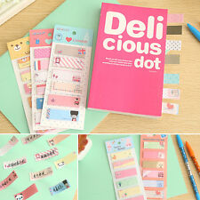 120 Pages Sticky Note Sticker Office Post It Cute Memo Index Bookmark