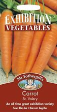 Mr Fothergills - Pictorial Packet - Vegetable -Carrot St Valery - 750 Seeds