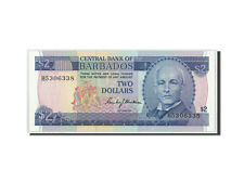 Billets, Barbados, 2 Dollars, KM:30a, NEUF #312482
