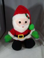 Vintage Dakin 1988 Plush cuddly Santa toy