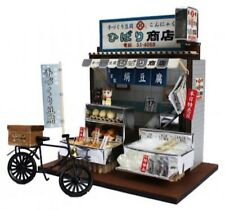 JAPAN Dollhouse Miniature Diorama TOFU STORE shop Architecture kit Figure Billy