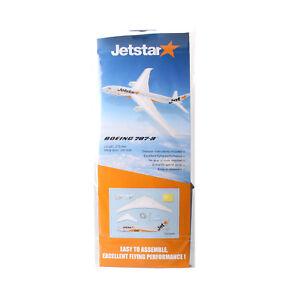 Jetstar Boeing B787-8 Glider Airplane Model DIY Aircraft Activity Hobby Kit