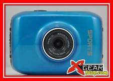 "SPORTCAMERA XCAM HD 720P videocamera DISPLAY TOUCH 2"" + ATTACCHI! cam moto cross"