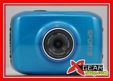 "MICROCAMERA XCAM HD + ATTACCHI! 720P videocamera DISPLAY TOUCH 2"" cam moto cross"